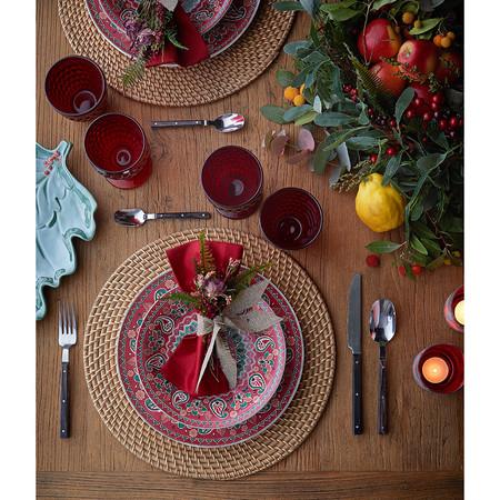 Mesa de Navidad en rojo