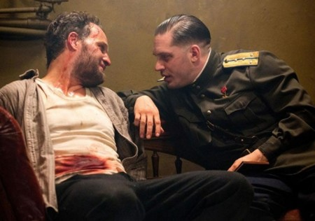 Jason Clarke y Tom Hardy en