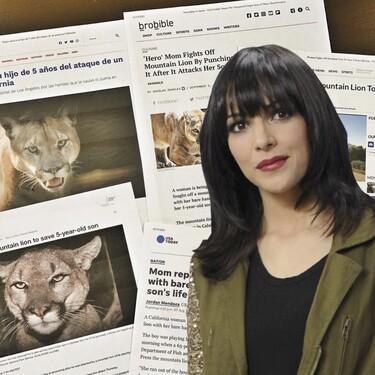 Raquel del Rosario ('El Sueño de Morfeo') ocupa todos los titulares de Estados Unidos: salva a su hijo de ser devorado por un puma