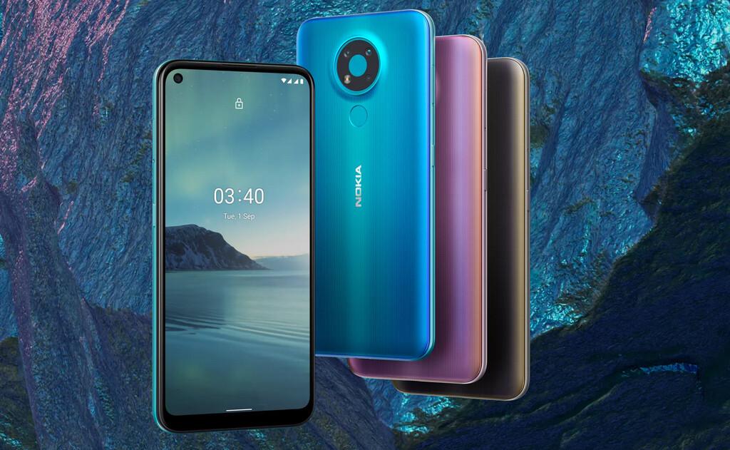 Nokia 3.4: la gama económica de Nokia™ apuesta por la triple cámara y la monitor perforada