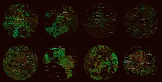Treepedia, el mapa definitivo para averiguar cuántos árboles tiene tu ciudad y dónde están plantados