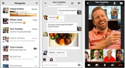 Google I/O: App de mensajería, rediseño de Google+ y más