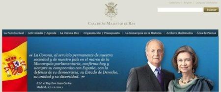 La Casa Real presenta su nueva web