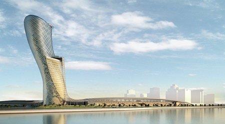 El nuevo edificio más inclinado del mundo