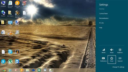 Windows + I