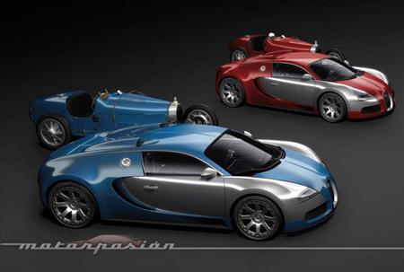 Exclusiva: Bugatti Veyron Centenaire Edition, primeras imágenes oficiales