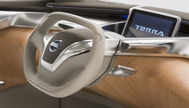 Nissan Terra hidrógeno interior