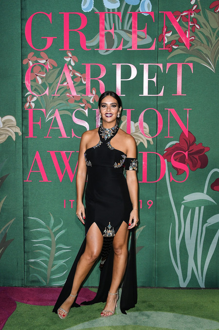 Cristina Pedroche green carpet fashion awards 2019