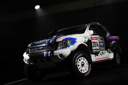 Ford prepara dos Ranger 4x4 para el Dakar 2014