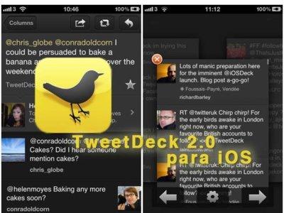 TweetDeck 2.0 llega a iOS con versátiles novedades