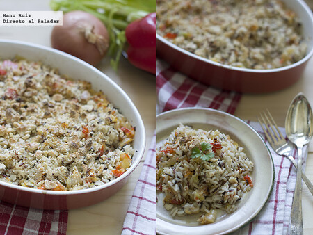 Cómo hacer arroz huérfano mexicano, receta con Thermomix