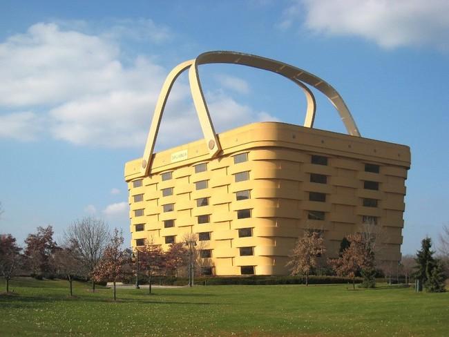 Edificio con forma de cesta