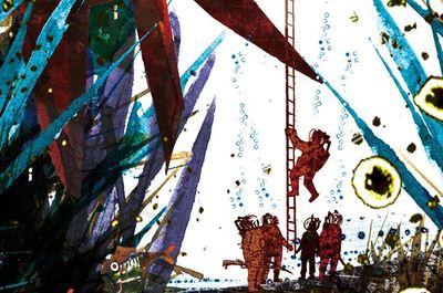 'Veinte mil leguas de viaje submarino' ilustrado ¡Me encanta!