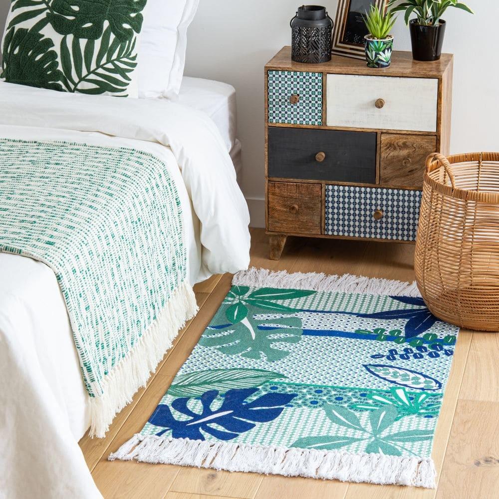 Complementos textiles de las rebajas de Maisons du Monde, para renovar ambientes de verano en casa
