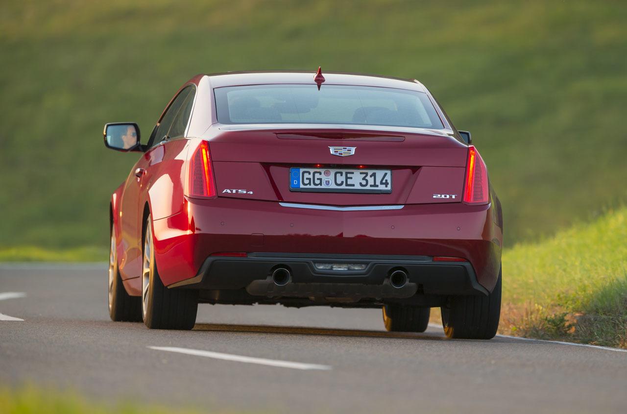 Foto de Cadillac ATS Coupé Europeo (9/33)