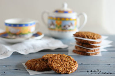 Receta vegana de galletas de avena y coco