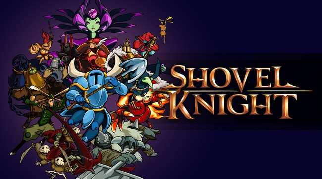 Shovel Knight Characters And Logo