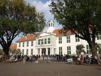 El centro histórico de Jakarta: la plaza Fatahillah