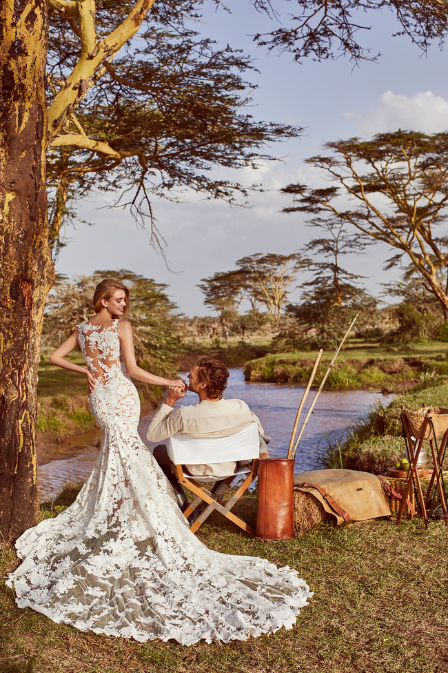 Wild Love In Esat Africa Pronovias Rua