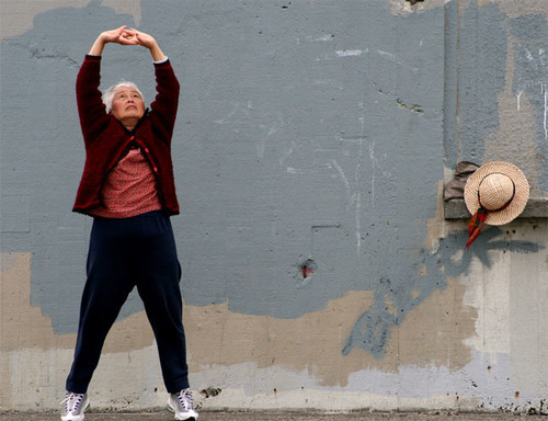 Sentadillas: Buen ejercicio también en personas muy mayores