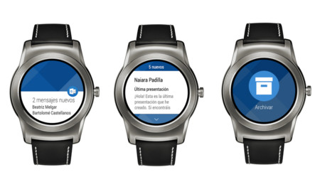 Outlook 2.1 lleva tus emails a tu smartwatch con su componente para Android Wear