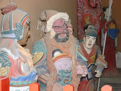 El templo taoísta de Dongyue en Beijing