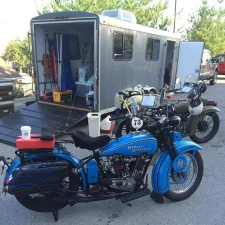 Robadas cuatro motos de la Motorcycle Cannonball