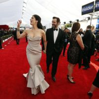 Sarah Silverman y Michael Sheen