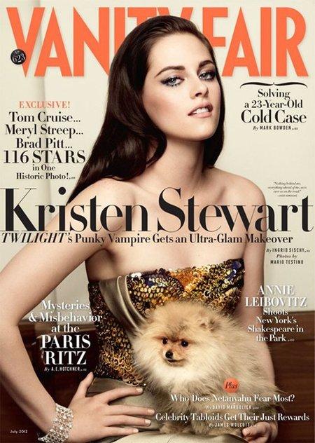 Para que luego digan que Kristen Stewart no sabe posar, ¡pues toma pose!