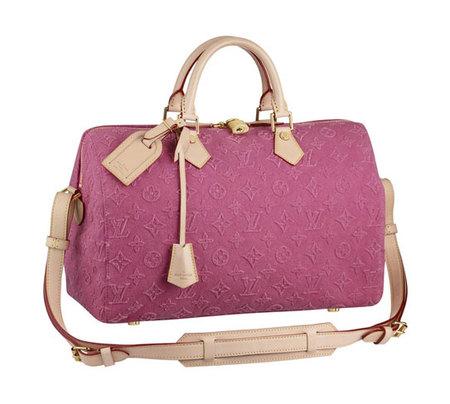 Bolsos Louis Vuitton Colección Crucero 2013 : ¿conoces la lona Monogram Stone? Rosa o Caramelo