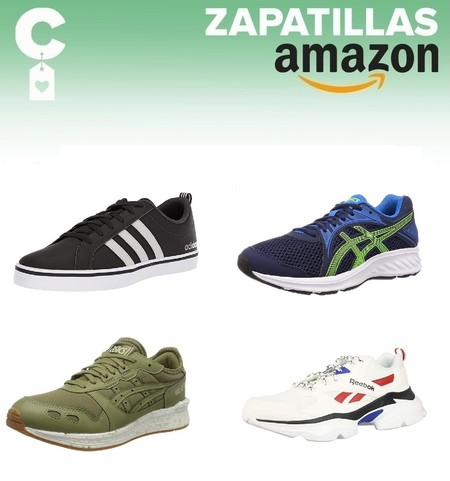 Chollos en tallas sueltas de zapatillas Asics, Reebok o Adidas en Amazon por menos de 40 euros