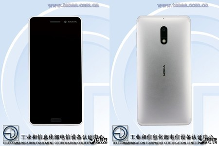 Nokia 6 Color Plata