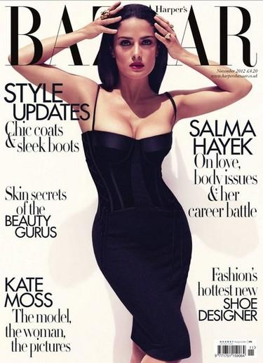 Ole tú, Salma Hayek, ¡¡qué vivan tus carnes y tu dislexia!!