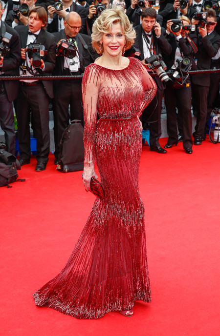 Jane Fonda Festival Cannes 2014 Elie Saab