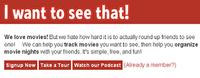 Planificando una salida con tus amigos al cine en la era Web
