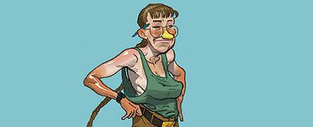 ¿Cómo serían los personajes de videojuegos en el mundo real?