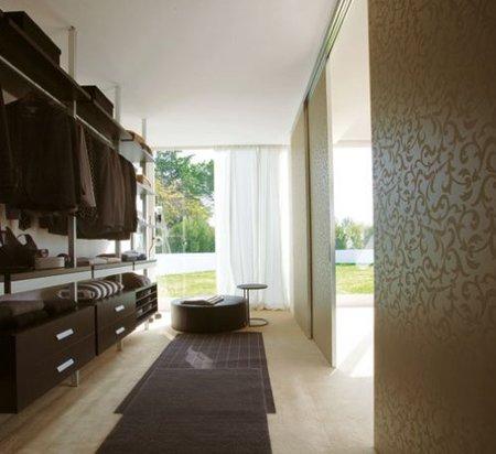 vestidor alfombra