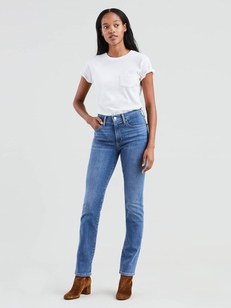 Levis Jeam Feminino 724 High Rise Straight Jeans 18883 0031 Second Thought 1