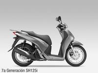 Honda SH125i, séptima generación