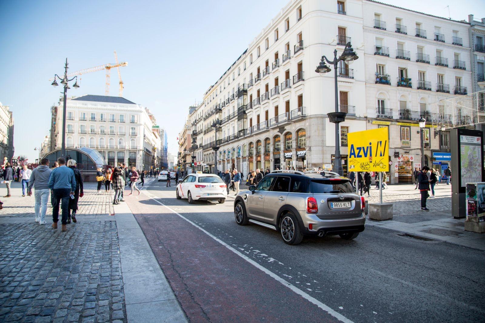 Foto de Madrid Central con el MINI Cooper S E Countryman All4 (14/20)