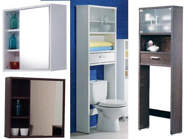 Estantes Para El Baño:Muebles de baño: el color marca la diferencia