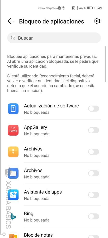 Apps Bloqueo