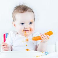Cómo introducir los sólidos a mi bebé: 13 grandes libros sobre alimentación complementaria