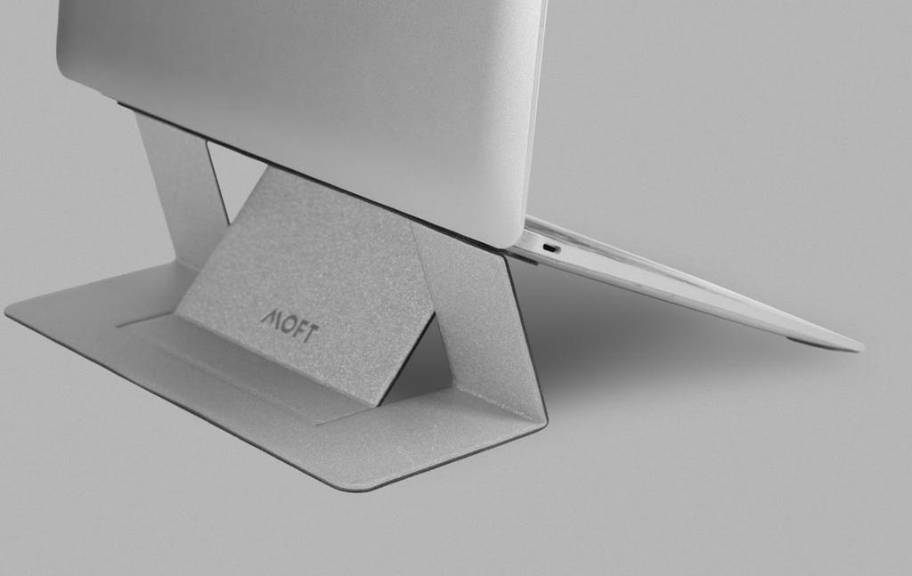 Este ingenioso soporte para tu portátil quiere ser el próximo gran éxito de Kickstarter