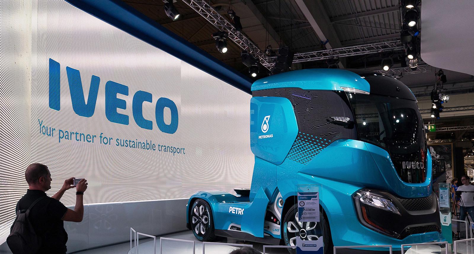 Camión del futuro Iveco Z Truck future