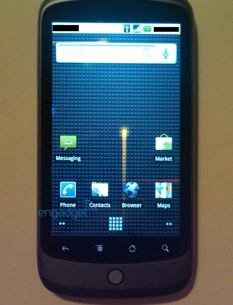 Nexus One, nuevas imágenes