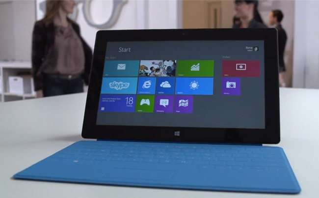 Video Surface Pro