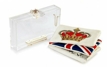 Clutch Pandora by Charlotte Olympia