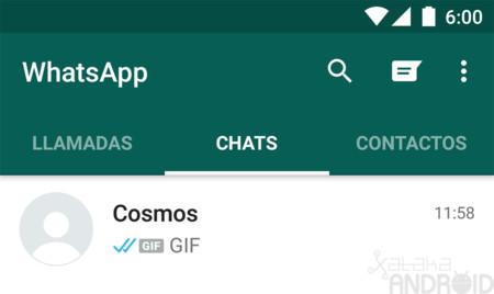 WhatsApp para Android: así podrás compartir tus vídeos como GIFs animados de 6 segundos