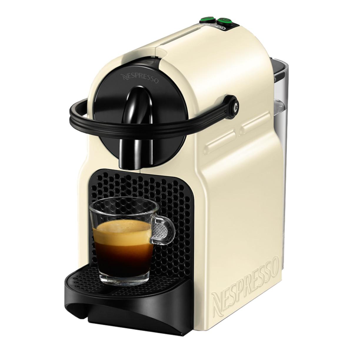 Cafetera espresso automática De'Longhi Inissia EN80CW para cápsulas Nespresso